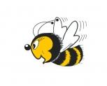 Včelka samolepící malá