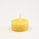 Svíčka ze včelího vosku litá malá