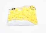 Mezerníky barevné žluté shřebíčky (100 ks)