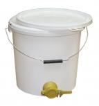 Stáčecí nádoba na 25 kg medu plastová bílá