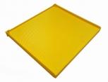 Rámek plastový s mezistěnou 39x36 THERMO žlutý