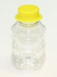 Obal na med MEDVÍDEK plastový na 350 g medu s klob