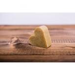 Medové mýdlo s peelingem a pylem, srdce 75g