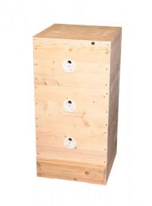 Včelí úl 39x24 (3x nástavek, dno Varr., víko)