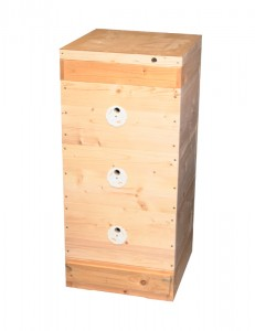Včelí úl 39x24 (3x nástavek, dno Varr., víko, kr.)