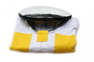 Včelařský kabátec s kloboukem barevný 48