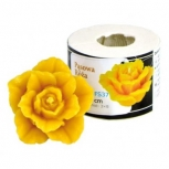 Forma silikonová Rozkvetlá růže malá 4 cm