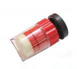 Výchytka plastová spístem ke znač. KUŽEL červená