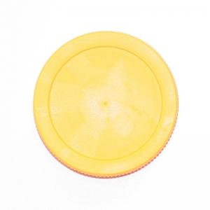 Víčko na sklenice TO-82 se závitem PLASTOVÉ žluté