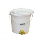 Stáčecí nádoba na 12 kg medu plastová bílá