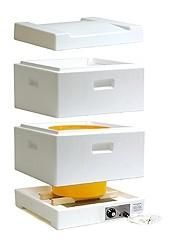 Ztekucovací komora s ventilátorem na 40 kg medu